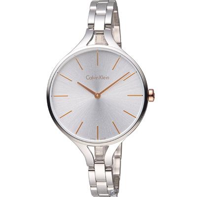 Calvin Klein graphic 閃亮的日子氣質腕錶(K7E23B46)