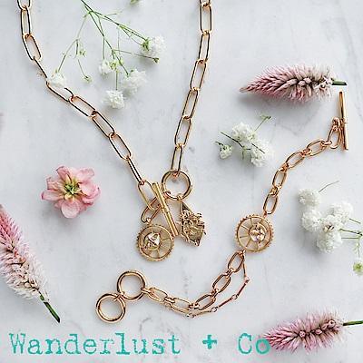 [時尚套組] Wanderlust + Co蜜蜂XL鎖鍊項鍊+蜜蜂手鍊