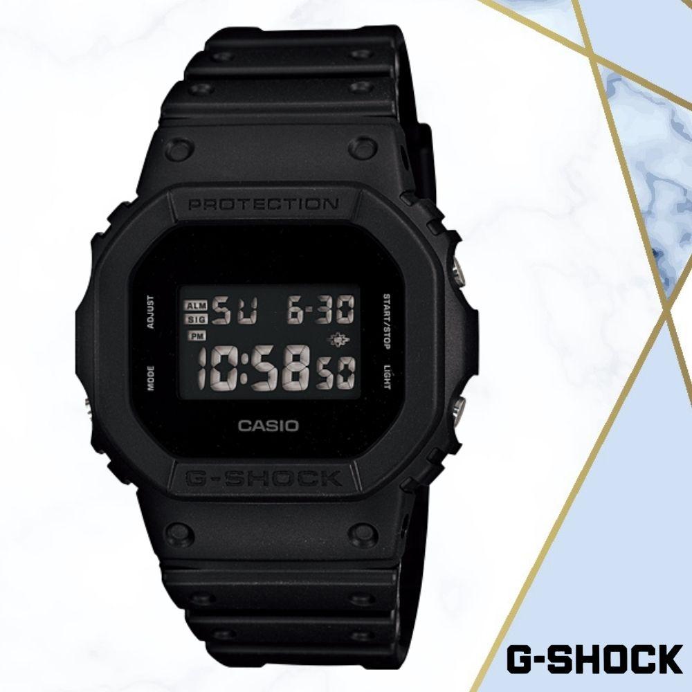 CASIO卡西歐G-SHOCK無限精神(DW-5600BB-1D)黑色