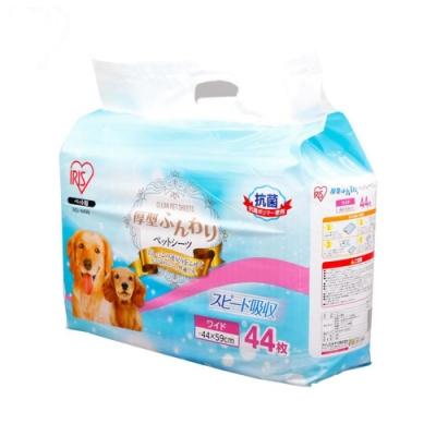 【IRIS】厚型抗菌尿片-44片 (AS-44W)《4包組》
