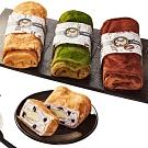 麥麥先生 千層毛巾蛋糕捲1組4條(CAT)