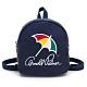 Arnold Palmer- 迷你後背包 玩色時尚系列-藍色 product thumbnail 1