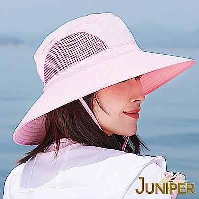 JUNIPER 抗UV防曬大帽眉遮陽漁夫帽