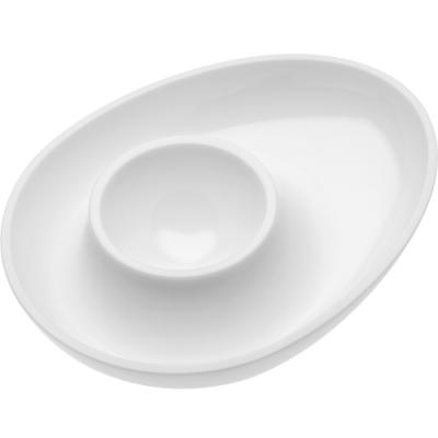 《KOZIOL》蛋型蛋杯(白)