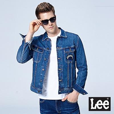 Lee 牛仔外套/101+中藍色