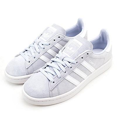 ADIDAS-CAMPUS W 女休閒鞋-藍