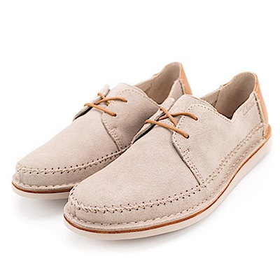 Clarks Brinton Craft 男休閒鞋 淺棕