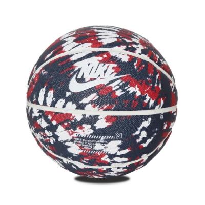 Nike 籃球 Global EXPL Basketball 7號球 室內外 橡膠 耐磨 水泥地可用 深藍 紅 N100265343507
