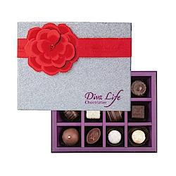 Diva Life 夏季版 經典12入禮盒(比利時夾心巧克力)