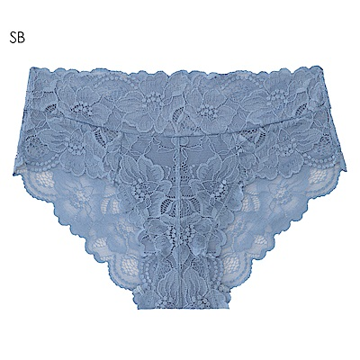 aimerfeel 全蕾絲性感內褲-珍珠藍-603720-SB