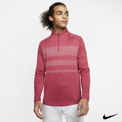 Nike 男 1/2拉鍊長袖上衣 紅 BV0391-609