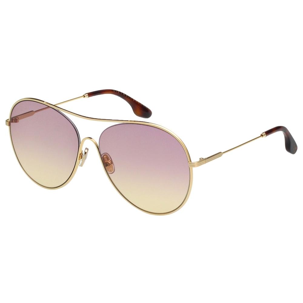 Victoria Beckham維多利亞貝克漢 太陽眼鏡 (淡金色)VB131S