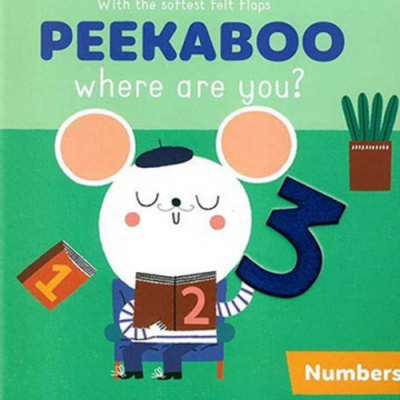 Peekaboo,Where Are You?:Numbers 躲貓貓翻翻書:數字篇