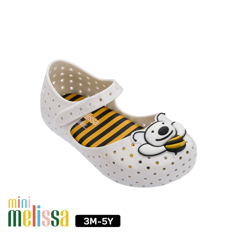 Melissa蜜蜂娃娃鞋寶寶款 白