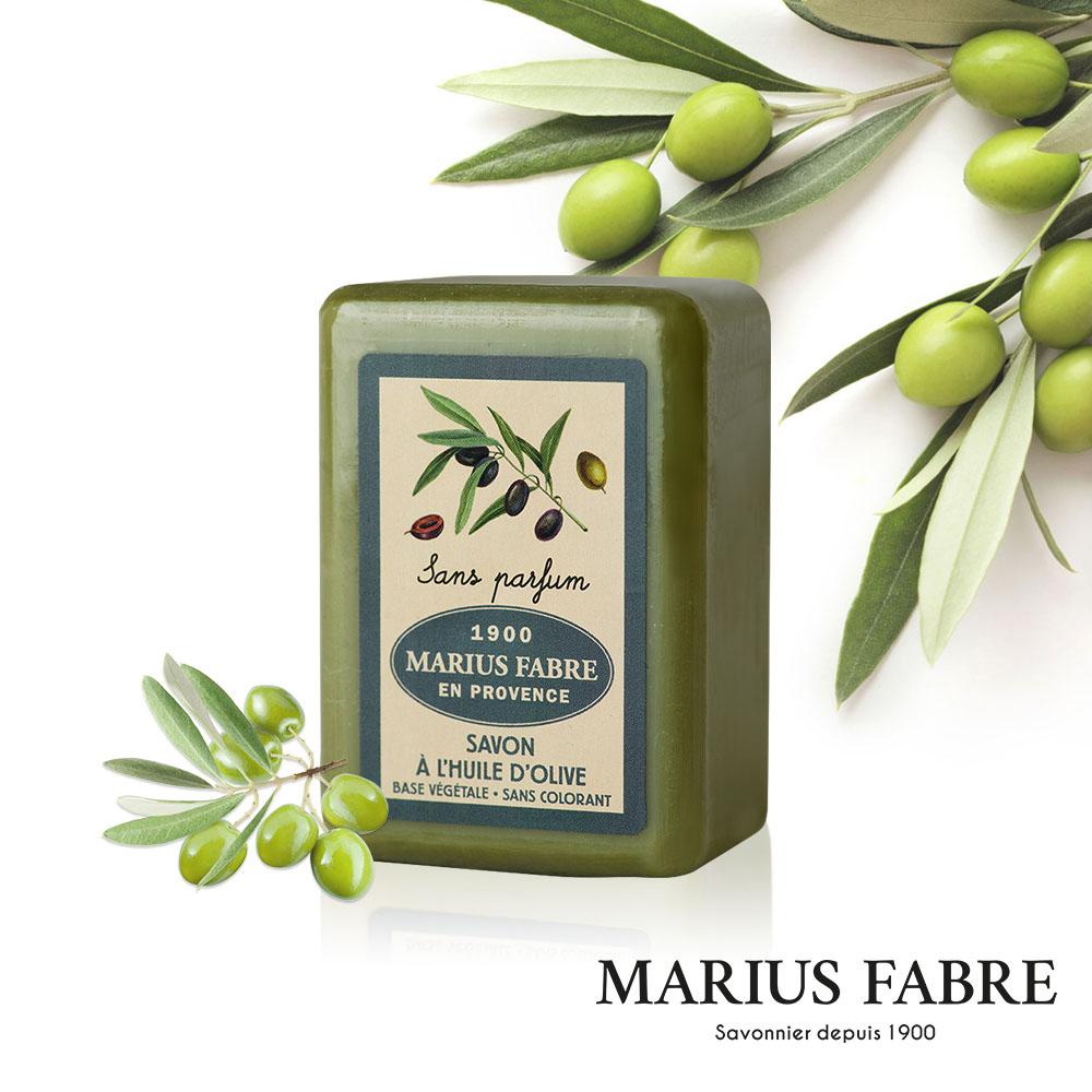 法國法鉑-天然草本無香料橄欖皂-150g/顆
