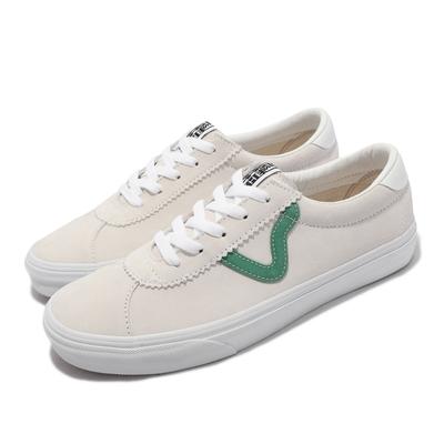 Vans 休閒鞋 Sport 復古 Flying V 男女鞋 麂皮 抓地 耐磨 百搭 經典 淺褐 綠 VN0A4BU602Q