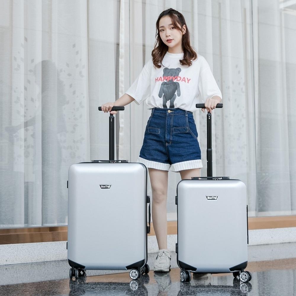 《箱旅世界》20+25吋 AIR BOX 超輕量單拉桿行李箱套組 20吋 25吋 登機箱 旅行箱 行李箱