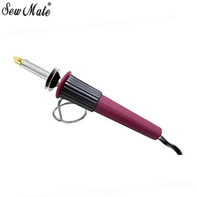 台灣SewMate 10合1皮雕木雕燒烙筆電烙筆DW-WB04烙畫筆(含10種燙頭各1和轉寫襯+水消筆;可作點狀.彩繪玻璃.寫字.平塗.切割化纖.銲槍)皮革雕刻燙花器