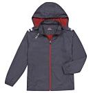 KAPPA義大利時尚型男運動平織外套 全網裡 深灰3513BGW411