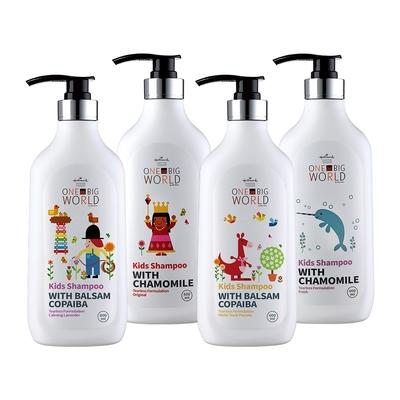 Hallmark合瑪克 童話樂園 舒淨洗髮露 600ml-牛奶/海洋/薰衣草/白茶柚子
