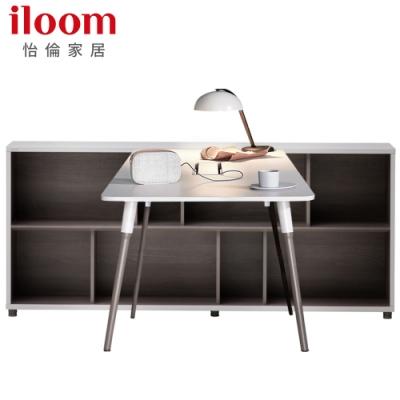 【iloom 怡倫家居】Libre 1200型基本型書桌+1800型2層書櫃