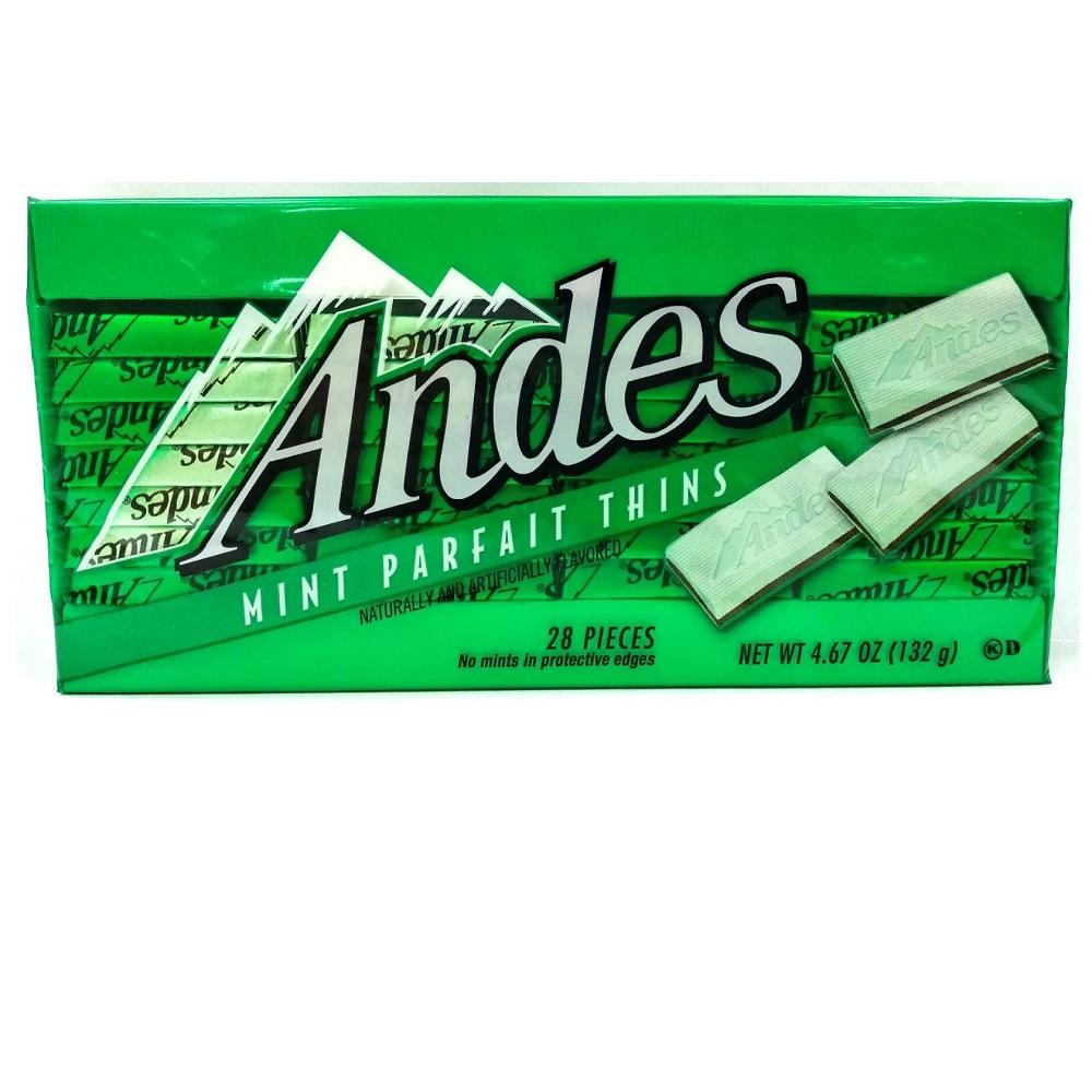 安迪士 雙薄荷可可薄片(132g/盒)