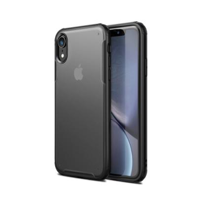 IN7 護甲系列 iPhone XR (6.1吋) 半透明磨砂款雙料保護殼