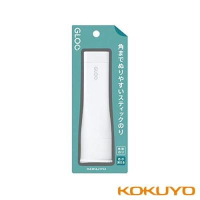 KOKUYO GLOO 方形口紅膠消色型-L藍(40g)1入