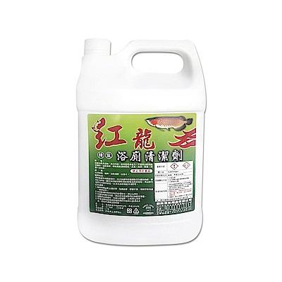 紅龍強效浴廁清潔劑1加侖/瓶