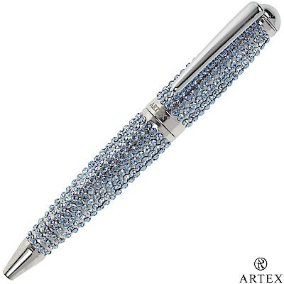 ARTEX 耀動水鑽筆 施華洛世奇元素 水藍鑽 原子筆