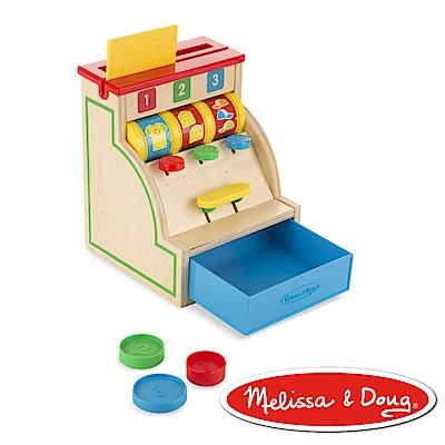 美國瑪莉莎 Melissa & Doug 益智遊戲 - 可刷卡木製收銀機組