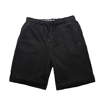 【ZEPRO】男子經典素面休閒短棉褲-活性黑