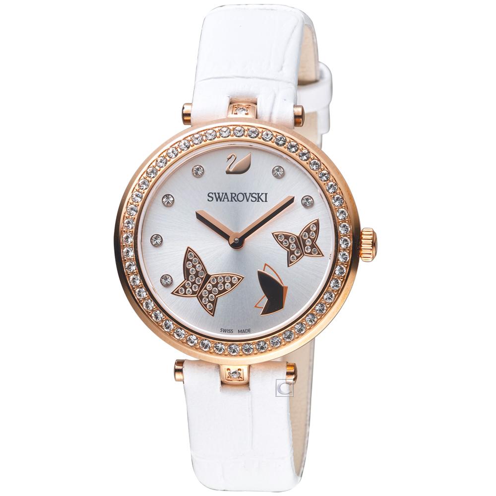 SWAROVSKI 施華洛世奇 AILA DRESSY蝴蝶腕錶(5412364)