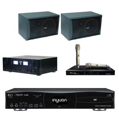 音圓N2+SUGAR SAK-5888+SK-8210+MI-889(伴唱機4TB+卡拉OK套組)