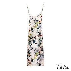 花色吊带裙 TATA-F