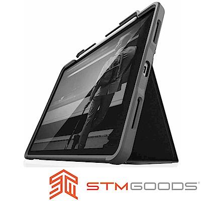 澳洲STM Dux Plus iPad Pro 12.9吋(第三代)軍規防摔平板保護殼-黑