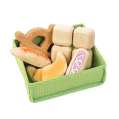 Tender Leaf Toys木製家家酒玩具-精緻麵包玩具組