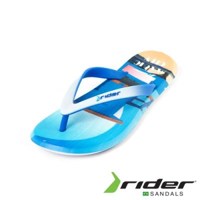 Rider ENERGY系列人字夾腳拖鞋(男款)-海灘藍