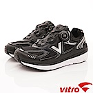 Vitro韓國專業運動品牌-108-B頂級BOA健走鞋-黑(男)