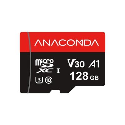 ANACOMDA 巨蟒 Explorer MicroSDXC UHS-I U3 C10 128GB 記憶卡