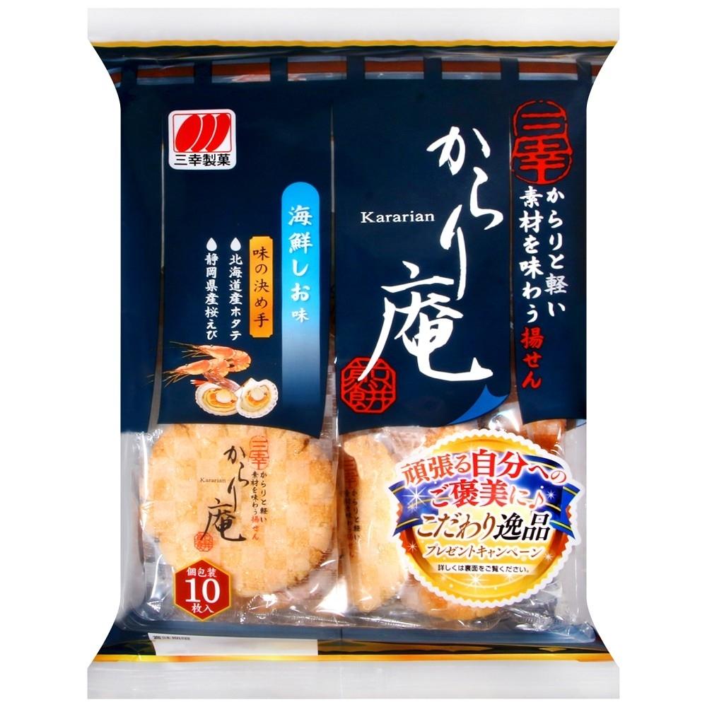 三幸製果 三幸鹽蝦風味仙貝(117g)