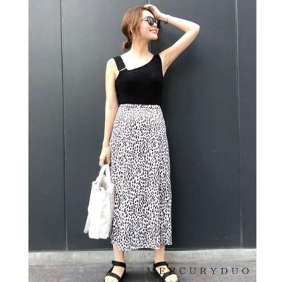 MERCURYDUO 豹紋長裙(2色)
