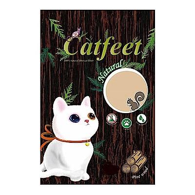 CatFeet 天然松木砂 20磅