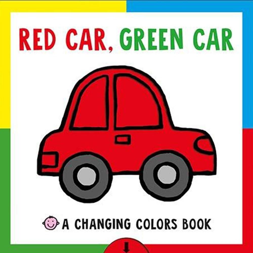 Red Car, Green Car 車車變變變硬頁操作書(美國版)