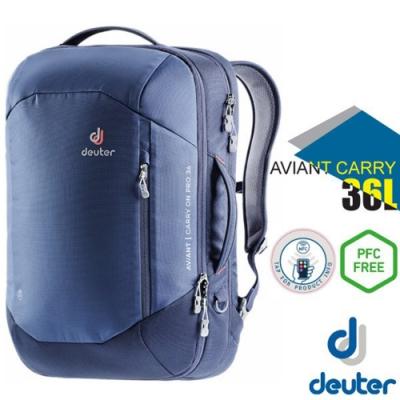 Deuter AVIANT CARRY ON 36L 專業休閒電腦後背包_藍