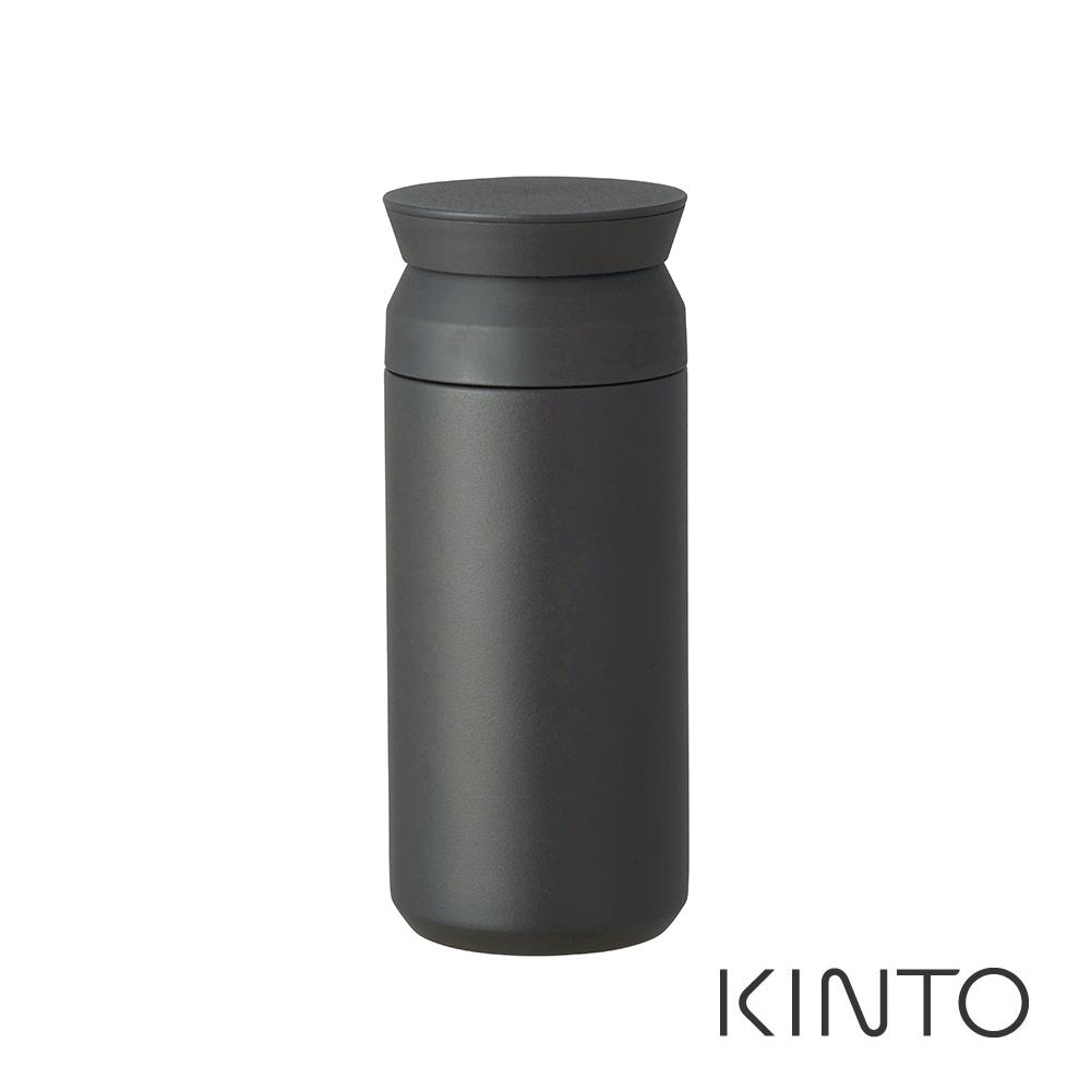 日本KINTO 隨行保溫瓶500ml-黑