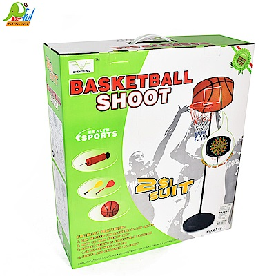 Playful Toys 頑玩具 鐵製兩用飛鏢籃球架