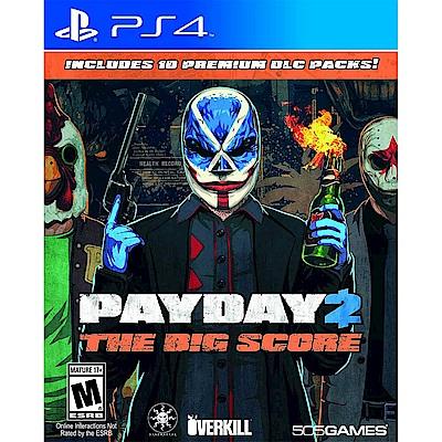 劫薪日 2 大幹一票 Payday 2 : The Big Score-PS4英文美版