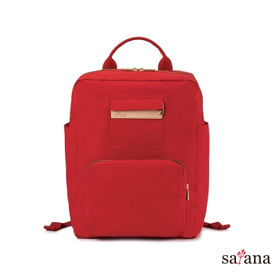 satana - 上課趣後背包 - 紅色