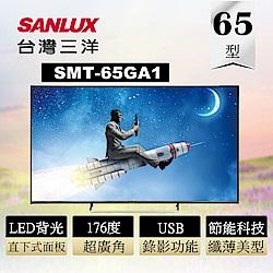 SANLUX 台灣三洋 65吋4K HDR 智慧聯網液晶顯示器 SMT-